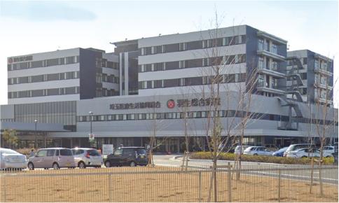 羽生総合病院 約500m(徒歩7分)