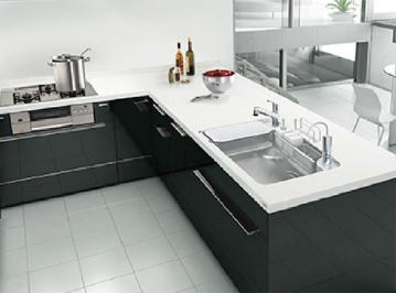 L型レイアウト キッチン