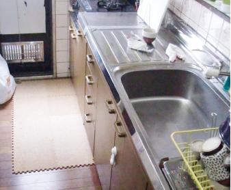 キッチンリフォームBefore